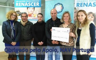 NAV Portugal apoia Liga Renascer