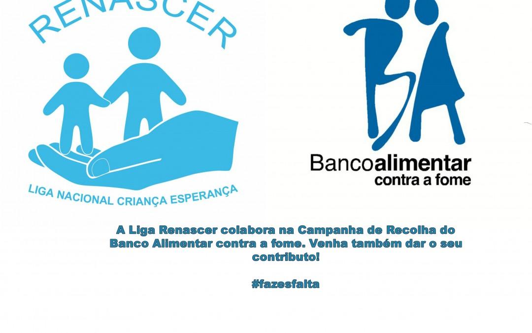 Renascer colabora com Banco Alimentar