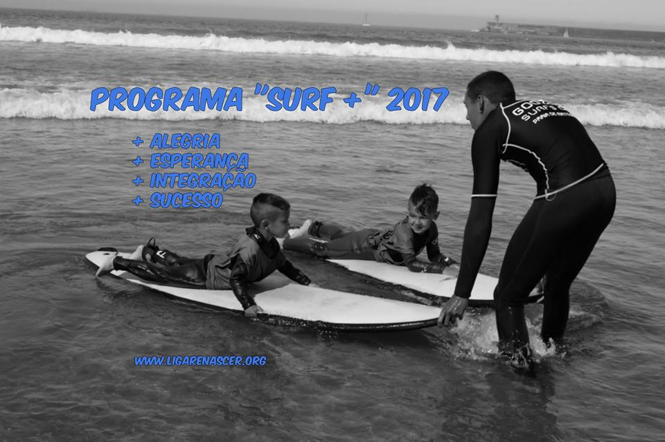 Liga Renascer anuncia Programa Surf + 2017