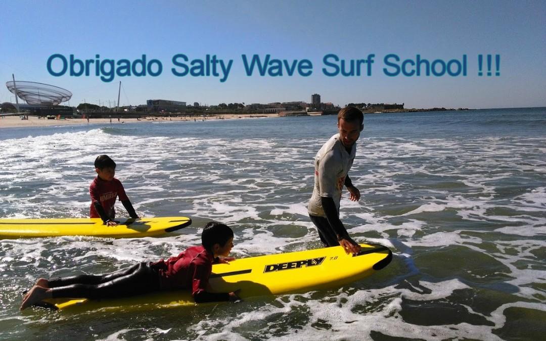 Obrigado Salty Wave Surf School