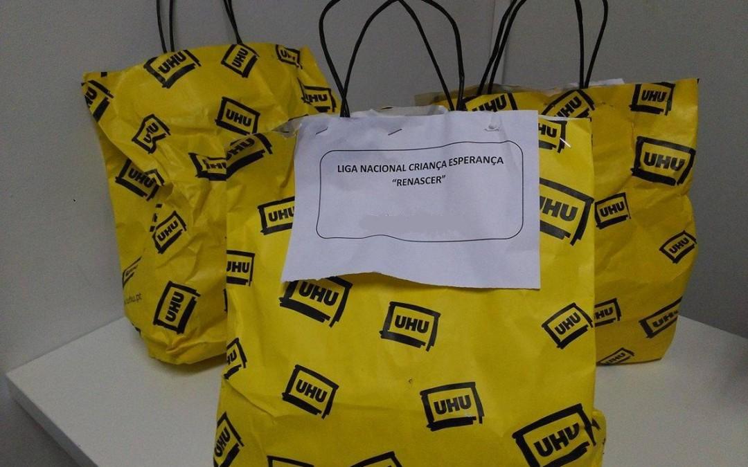 UHU realiza doação de material escolar