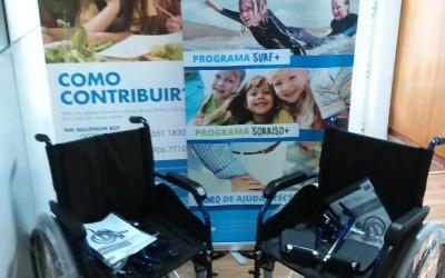 Liga Renascer colabora com Banco de Ajudas Técnicas