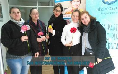 Renascer comemora Dia Internacional da Mulher
