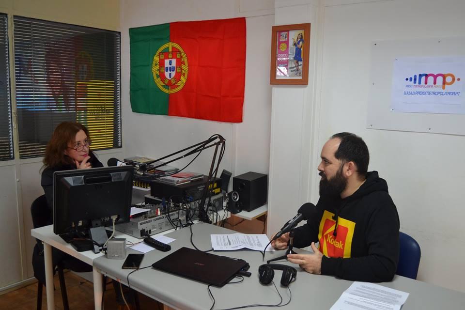 Renascer em entrevista na Rádio Metropolitana