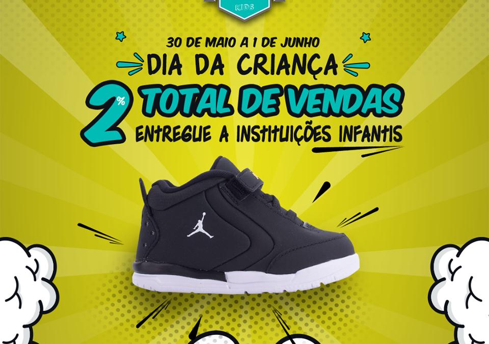 """Campanha """"Dia da Criança"""" na BStrong apoia Renascer"""