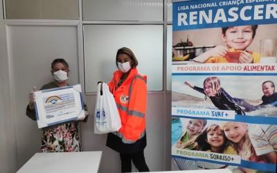 Freguesia apoia Renascer com material de protecção
